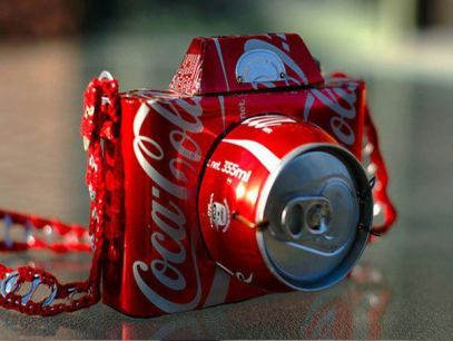 camera-art-arts-ideas-recycled-art-coca-cola-photography-creativity-best-free-online